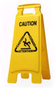 caution - safety first